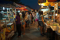 Ayutthaya's excellent night market has meals, snacks and drinks to satisfy just about any desire, as long as you like Thai food.