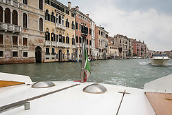 View from a water taxi in Venice, Italy.<br /> Photo: Ed Maynard<br /> 07976 239803<br /> www.edmaynard.com