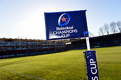 A general view from the Recreation Ground prior to the match - Mandatory byline: Patrick Khachfe/JMP - 07966 386802 - 12/12/2020 - RUGBY UNION - The Recreation Ground - Bath, England - Bath Rugby v Scarlets - Heineken Champions Cup