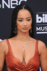 Draya Michele at the 2019 Billboard Music Awards held at the MGM Grand Garden Arena in Las Vegas, USA on May 1, 2019.