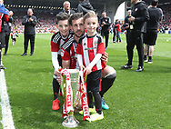 Sheffield United's Jake Wright during the League One match at Bramall Lane, Sheffield. Picture date: April 30th, 2017. Pic David Klein/Sportimage