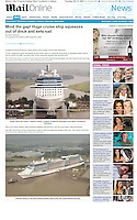 Celebrity Solstice. Daily Mail. UK.
