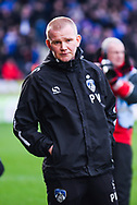 Pete Wild of Manchester City (Caretaker Manager) before the The FA Cup fourth round match between Doncaster Rovers and Oldham Athletic at the Keepmoat Stadium, Doncaster, England on 26 January 2019.