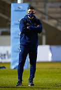 Sale Sharks Head Coach Paul Deacon during a Gallagher Premiership Round 12 Rugby Union match, Friday, Mar 05, 2021, in Eccles, United Kingdom. (Steve Flynn/Image of Sport)