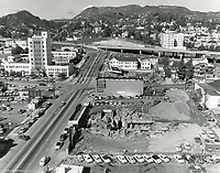 1955 Excavation for Capitol Records Tower on Vine Street