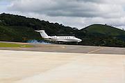 Manhuacu_MG, Brasil...Reforma e ampliacao do aeroporto de Manhuacu, Minas Gerais...The expansion works in Manhuacu airport, Minas Gerais...Foto: BRUNO MAGALHAES /  NITRO