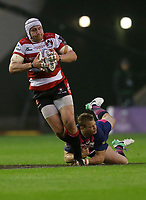 Rugby Union - 2017 European Rugby Challenge Cup Final - Gloucester vs. Stade Francais<br /> <br /> Ben Morgan of Gloucester breaks free during the match at Murrayfield.<br /> <br /> COLORSPORT/LYNNE CAMERON