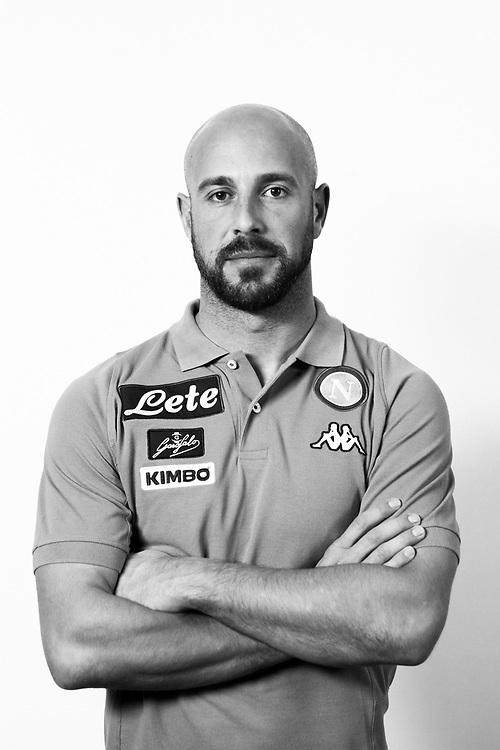 "Spanish footballer José Manuel ""Pepe"" Reina Páez. Castel Volturno, Italy. 2017."