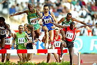 Athletics, 23. august 2003, VM Paris, World Championship in Athletics,Reuben Kosgei, Kenya,  Alexander Motone, Sør-Afrika,  Bouabdallah Tahri, Frankrike