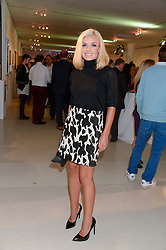 KATHERINE JENKINS at the Macmillan De'Longhi Art Auction 2013 held at the Royal College of Art, London on 23rd September 2013.