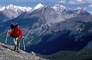Hiking the Kananaskis Country, Alberta, Canada