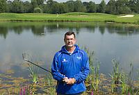 UTRECHT - Headpro Peter Cantrell van Golfclub Amelisweerd op hole 16.  COPYRIGHT KOEN SUYK