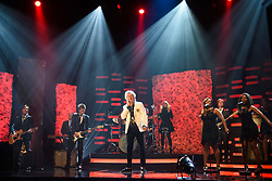 Sir Rod Stewart performs during the filming of the Graham Norton Show at BBC Studioworks 6 Television Centre, Wood Lane, London, to be aired on BBC One on Friday evening.