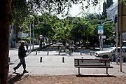 Israel, Tel Aviv, Rothschild Boulevard,