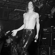 BETHLEHEM DECEMBER 12: Iggy Pop performs on December 12, 1997 in Bethlehem, Pennsylvania. ©Lisa Lake