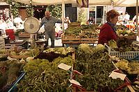 Rome.Campo dei Fiori market