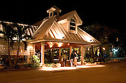 Fine dining at Fathoms Island Grill.  Indian Shores Tampa Bay Area Florida USA