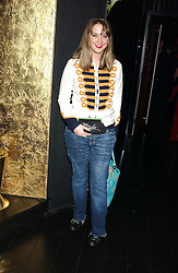 DAISY DE VILLENEUVE  at a preview of Lulu Guinness's new Handbag Collection ' Couture' held at Aviva, Baglioni Hotel, 60 Hyde Park Gate, London SW7 on 15th February 2006.<br /><br />NON EXCLUSIVE - WORLD RIGHTS