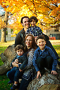 Sterk Family photo session at Cummings Square in River Forest on Sunday, October 26th, 2014. © 2014 Brian J. Morowczynski ViaPhotos