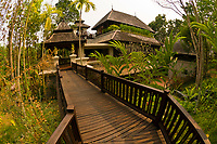 A villa, Four Seasons Resort Chiang Mai, Mae Rim district, near Chiang Mai, Northern Thailand