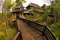 A villa, Four Seasons Resort Chiang Mai, Mae Rim district, near Chiang Mai, Northern Thailand