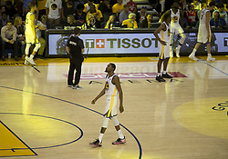 May 31, 2018 - Oakland, California, U.S - Kevin Durant #35 of the Golden State Warrior during  their  NBA Championship Game 1 with the s Cleveland  Cavaliers  at Oracle Arena in Oakland, California on Thursday,  May 31,  2018. (Credit Image: © Prensa Internacional via ZUMA Wire)