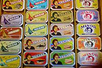 "Portugal, Lisbonne, boutique ""conserveira de lisboa"" rua dos bacalhoeiros // Portugal, Lisbon, shop ""conserveira de lisboa"" rua dos bacalhoeiros"