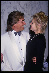 Mar 12, 1994 - Hollywood, California, USA - DON JOHNSON and MELANIE GRIFFITH attend the American Society of Editors Awards (Credit Image: Kathy Hutchins/ZUMAPRESS.com)