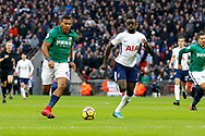 West Bromwich Albion forward Jose Salomon Rondon (9) looks to attack the goal during the Premier League match between Tottenham Hotspur and West Bromwich Albion at Wembley Stadium, London, England on 25 November 2017. Photo by Andy Walter.