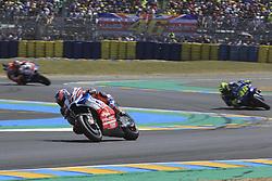 May 20, 2018 - Le Mans, France - 9 DANILO PETRUCCI (ITA) ALMA PRAMAC RACING (ITA) DUCATI DESMOCEDICI GP18 (Credit Image: © Panoramic via ZUMA Press)