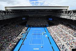 January 18, 2017 - Melbourne, AUSTRALIA - AMbiance Hi Sense arena (Credit Image: © Panoramic via ZUMA Press)
