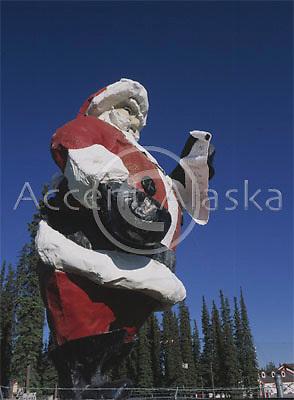 Alaska. North pole. Santa's House, where it is christmas everyday!