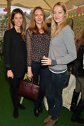 Left to right, SARAH MITCHELL, GWYNETH ARCHER and KATIE SOLER at a ladies Valentine's Breakfast to launch the new healthy food menu at royal favourite restaurant Bumpkin, 119 Sydney Street, London on 14th February 2014.