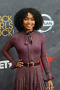August 5, 2017-New York, New York, NY-United States:  Actress Yara Shadhidi attends the 2017 Black Girls Rock! Awards Show powered by BET held at the New Jersey Performing Arts Center on August 3, 2017 in Newark, New Jersey.(Photo by Terrence Jennings/terrencejennings.com)