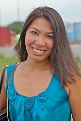 Vietnamese Woman Traveling To Cambodia