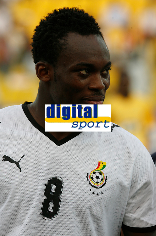 Photo: Steve Bond/Richard Lane Photography.<br /> Ghana v Morocco. Africa Cup of Nations. 28/01/2008. Michael Essien of Chelsea and Ghana lines up