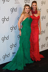 (LtoR) Actress Elsa Pataky with Sandra Ibarra attends Ghd Pink Proyect charity dinner at the Casino de Madrid, Madrid, Spain, November 28, 2012. Photo by Jesus M. Izquierdo / DYD PPA / i-Images...SPAIN OUT