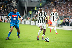 April 22, 2018 - Turin, Piedmont/Turin, Italy - Blaise Matuidi durig the Serie A match Juventus FC vs Napoli. Napoli won 0-1 at Allianz Stadium, in Turin, Italy 22nd april 2018 (Credit Image: © Alberto Gandolfo/Pacific Press via ZUMA Wire)