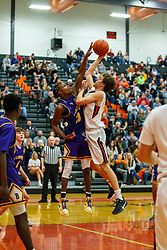 31 January 2020: Boys Basketball game between the Bloomington Raiders and the NCHS Ironmen in Normal Community High School, Normal IL<br /> <br /> 32