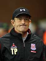 Photo: Mark Stephenson/Sportsbeat Images.<br /> Stoke City v Sheffield United. Coca Cola Championship. 10/11/2007.Stoke manager Tony Pulis