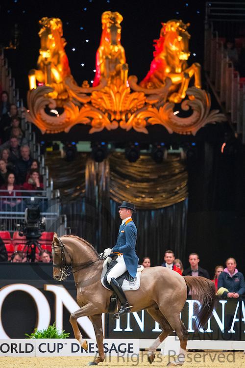 Hans Peter Minderhoud - Glock's Flirt<br /> Olympia Horse Show 2016<br /> © DigiShots