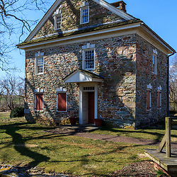 Quarryville, PA, USA - March 30, 2013: Robert Fulton Birthplace in southern Lancaster County, PA.