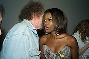 MIKE FIGGIS; JUNE SARPONG, June Sarpong  celebrates launch of her new political website, PoliticsAndTheCity.com. Institute Of Contemporary Arts (ICA), The Mall, London, SW1 8 July 2008 *** Local Caption *** -DO NOT ARCHIVE-© Copyright Photograph by Dafydd Jones. 248 Clapham Rd. London SW9 0PZ. Tel 0207 820 0771. www.dafjones.com.