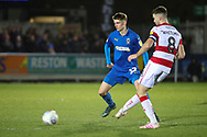 AFC Wimbledon Jack Rudoni (12) chasing ball during the EFL Sky Bet League 1 match between AFC Wimbledon and Doncaster Rovers at the Cherry Red Records Stadium, Kingston, England on 14 December 2019.