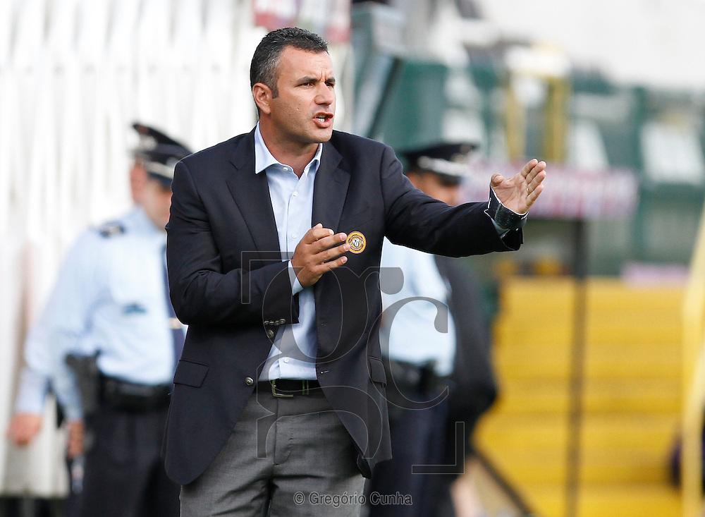 Estadio da Madeira, Liga Europa.Nacional vs FH Hafnarfjordur.Ivo Vieira treinador Nacional.Foto Gregorio Cunha