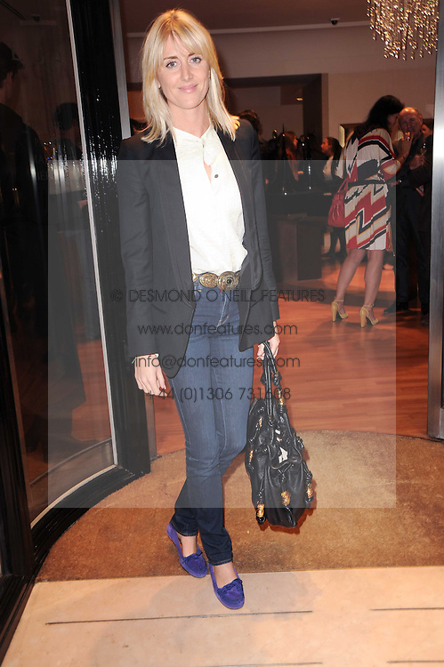 LADY EMILY COMPTON at a party to celebrate the B.zero 1 design by Anish Kapoor held at Bulgari, 168 New Bond Street, London n 2nd June 2010.