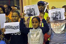 Johannesburg - Lenasia Release Shiraaz Mohamed Night Vigil - 18 Jan 2016