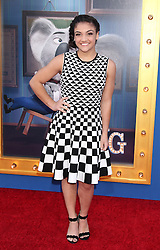 Laurie Hernandez, Universal Pictures film premiere for Sing at LA Live (Los Angeles, CA.)