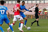 Alex Reid. Wrexham AFC 0-3 Stockport County FC. Vanarama National League. The Racecourse Ground. 10.4.21