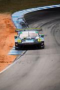 March 20, 2021. IMSA Weathertech Mobil 1 12 hours of Sebring: #99 Team Hardpoint EBM, Porsche 911 GT3R GTD, Rob Ferriol, Earl Bamber, Trenton Estep